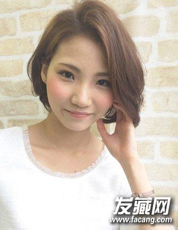 韩式短发外卷发型 短发梨花头优雅减龄(6)