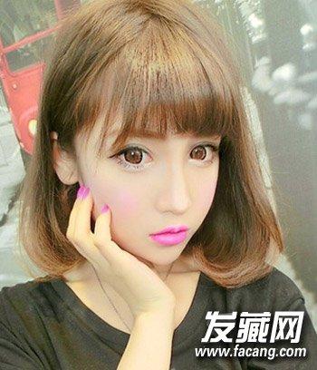 宋慧乔赵丽颖示范 →女生圆脸适合什么发型?