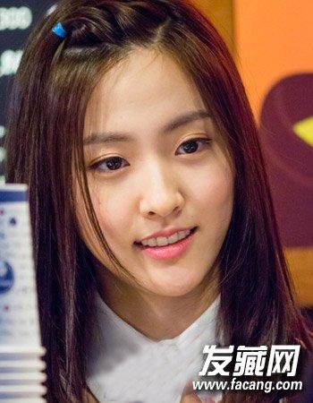 齐刘海新娘发型推荐,编发,长发,短发,盘      俏皮可爱的苹果头就是