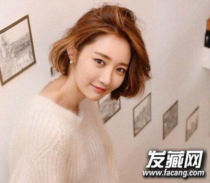 齐肩短发发型设计图片 方脸圆脸都适合(7)