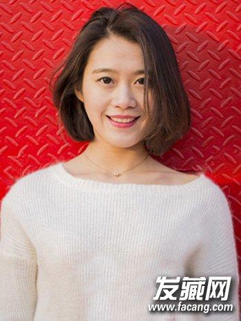 时尚清新的韩式短发发型 韩国妹子都这样留(5)
