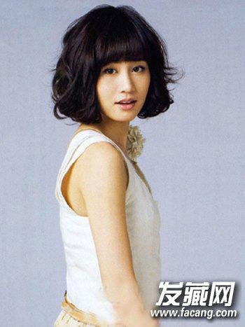 时尚清新的韩式短发发型 韩国妹子都这样留(7)