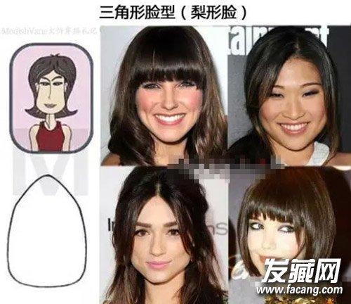 7种脸型发型设计 快速找到适合自己的发型(3)图片