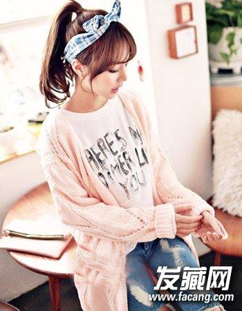 矮个子女生适合什么发型 矮个子女生发型(7)