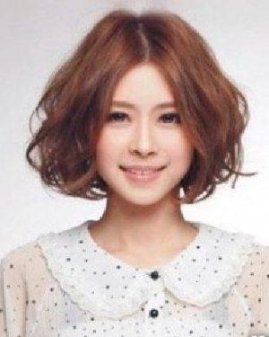 不同脸型适合的烫发发型 大脸方脸适合的发型