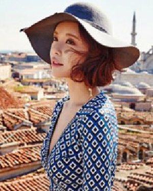 圆脸适合的发型设计 韩式短发干练显瘦