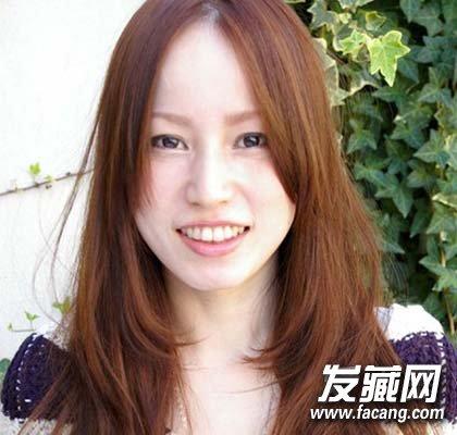刘海来取长补短 菱形脸适合什么发型(8)