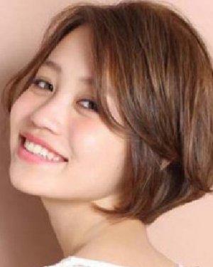 刘海来取长补短 菱形脸适合什么发型