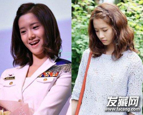 发型网 女生发型 女生短发发型 > 刘诗诗戚薇林允儿 中韩女星短发也