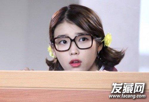 刘诗诗戚薇林允儿 中韩女星短发也女神(5)