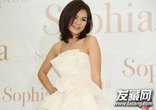 陈嘉桦,ella的短发,帅气中带点性感.