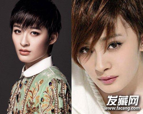 杨幂林允儿 女星罕见的惊艳短发造型