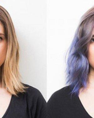 紫色染发好显白 自己diy更高效