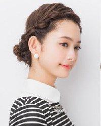 可爱发型设计 2款韩式麻花辫盘发教程