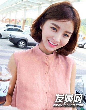 齐肩短发发型设计 8款简单时尚有气质(3)