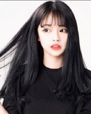 空气刘海怎么弄好看 清纯甜美空气刘海长发发型图片