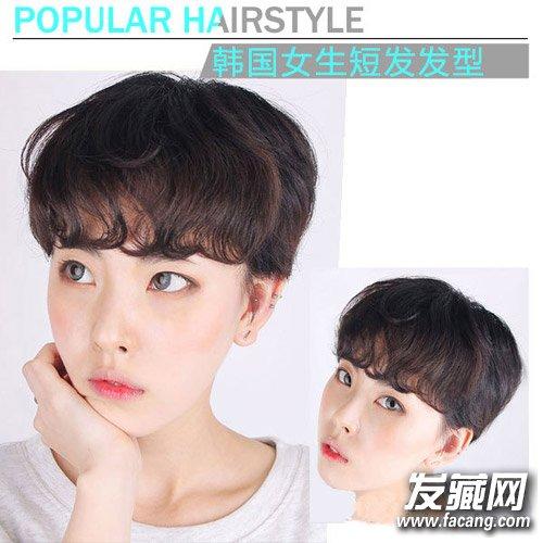 韩式短发发型设计 最新韩式思密达发型(6)图片