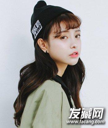 韩式刘海超百搭 最新空气刘海发型图片(2)图片