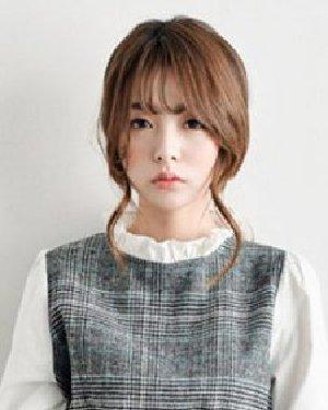 七夕浪漫约会季 优雅的韩式扎发发型