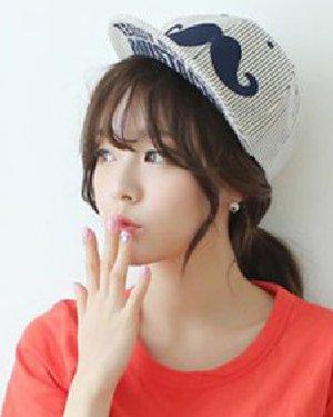 清新韩式扎发图片 装点夏日可爱气息