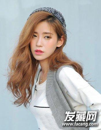 2015韩式中长发图片 2015韩式发型中长发型(3)