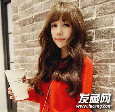 斜刘海中长发发型 下半年的造型有着落了(4)图片