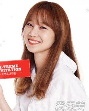 最新韩式内卷刘海发型 90后MM都爱它