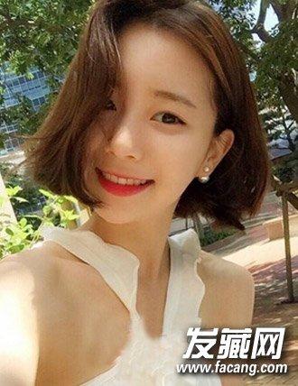 韩范网红红唇头像女生