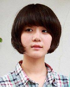 女学生适合的发型 爱上清纯学院风