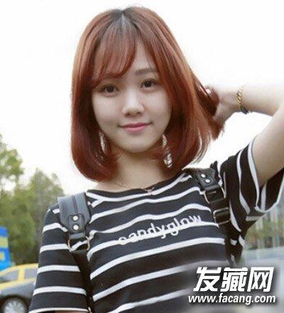最新内扣梨花头发型图片 长发短发都很美(3)