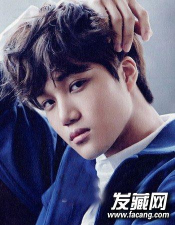 男生发型也看脸 十分有文艺气息男生发型(3)