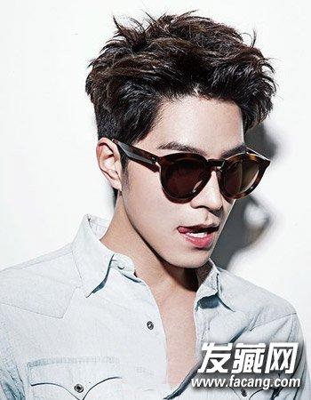 男生流行发型趋势 清爽的露耳短发显文艺(5)图片