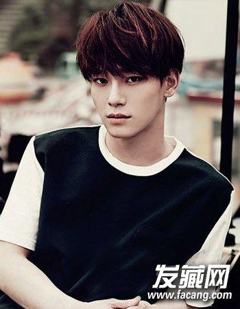 男生适合剪平刘海吗?时尚的韩国男生发型设计图片