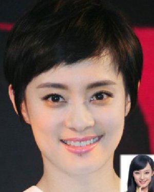 短发最好看 最火十位女星长短发对比照