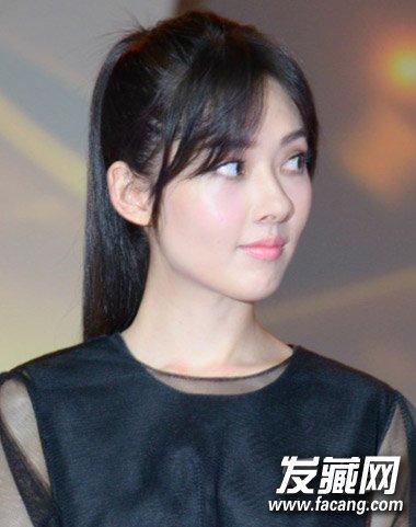 新装 尹恩惠郭碧婷齐齐爱上空气刘海 7