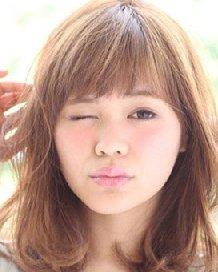 齐刘海中卷发发型 齐刘海适合什么脸型?