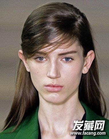 中分分线发型 看脸型找到最适合你的发型(8)图片