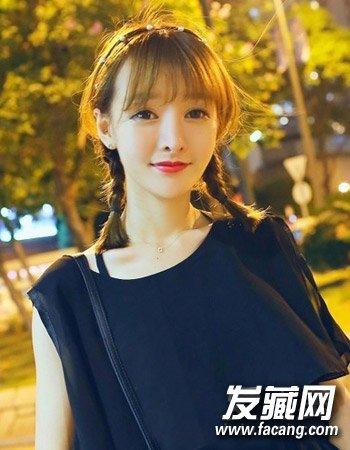 小脸淑女发型 简单发型最时尚(5)图片