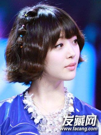 韩式短发发型2015女三