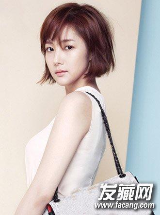 韩式短发发型2015女四
