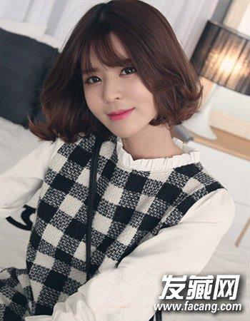 学韩国mm弄一款短烫发 短发弄什么发型好看 →短发弄什么发型好看
