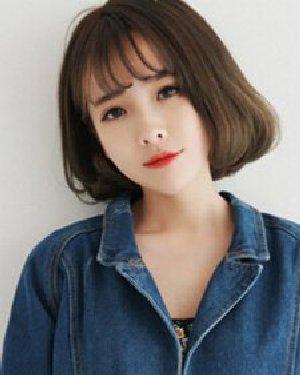 时尚韩式空气刘海短发发型 这9款清纯美腻了图片