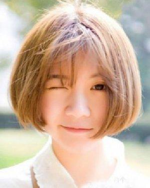 甜美的短发波波头发型 9款短发清新萌cry!