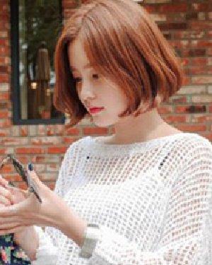 2015年韩版短发发型 清秀灵动又可人