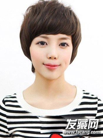 发型网 流行发型 韩式发型 > 2015年韩版短发发型 清秀灵动又可人(7)