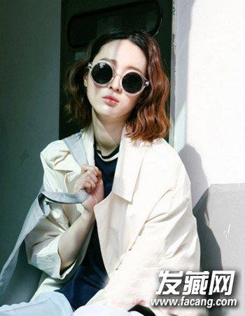 韩式波波头卷发发型 韩式烫发显潮范(2)图片