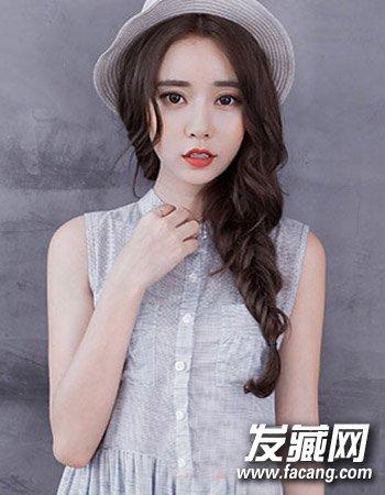 韩式淑女发型图片 七夕让他眼前一亮(6)图片
