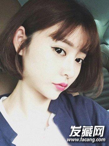 日韩短发发型3