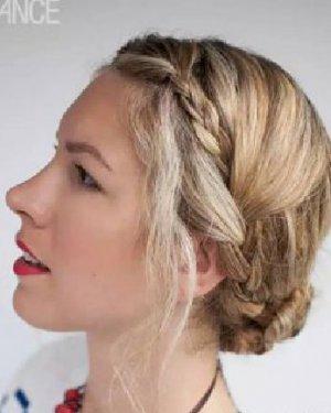 中长发/长发/卷发/直发 6步梳一款高大上的盘发