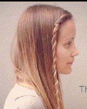 两股辫也能扎出好发型 简单好看的发型